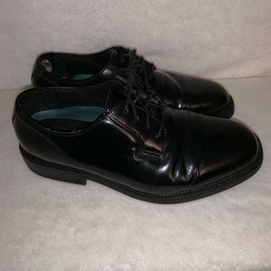 Black Crown executive collection leather shoes